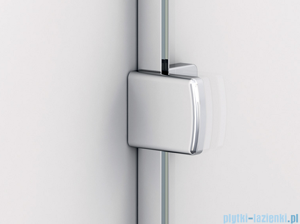 Sanswiss Melia MET3 Ścianka prawa z uchwytami i profilem 90-140/do 200cm Master Carre MET3ADSM21030