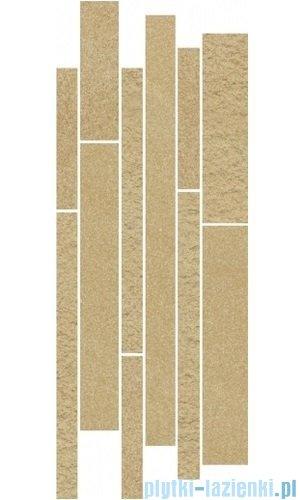 Paradyż Arkesia brown mix paski listwa 20x52