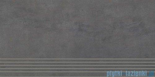 Paradyż Tecniq nero mat stopnica 29,8x59,8