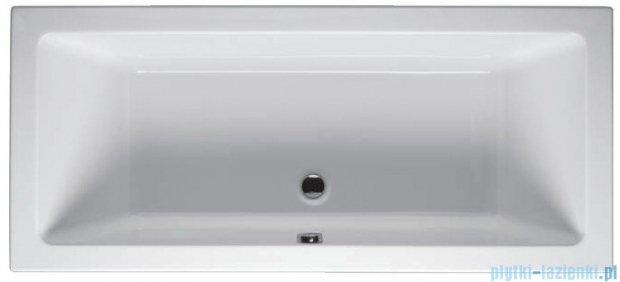 Riho Lusso Wanna prostokątna 190x80 z hydromasażem LUX Hydro 4+4+2/Aero11 BA59L8