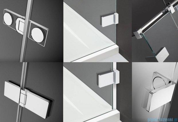 Radaway Arta Dwjs drzwi wnękowe 130cm prawe szkło przejrzyste 386455-03-01R/386122-03-01R