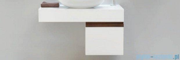 Antado Combi szafka lewa z blatem i umywalką Bali biały/ciemne drewno ALT-141/45-L-WS/dp+ALT-B/2C-1000x450x150-WS+UCS-TC-65
