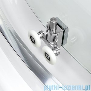 New Trendy Varia kabina prysznicowa trójścienna 80x120x80x190 cm przejrzyste K-0256