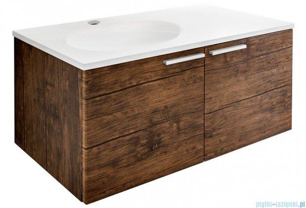 Antado Sycylia Szafka podumywalkowa z szufladą 90x48x45 lewa, stare drewno KTS-140/2-50L