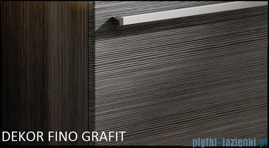 Antado Spektra ceramic szafka podumywalkowa 72x43x40 fino grafit FDF-AT-442/75GT-46