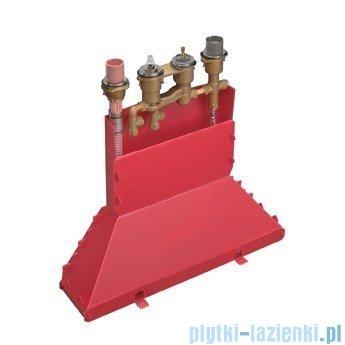 Hansgrohe Axor Zestaw podstawowy do baterii 4 otworowej montaż na cokole z płytek 15460180