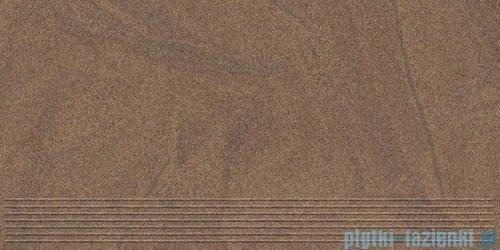 Paradyż Arkesia mocca satyna stopnica 29,8x59,8