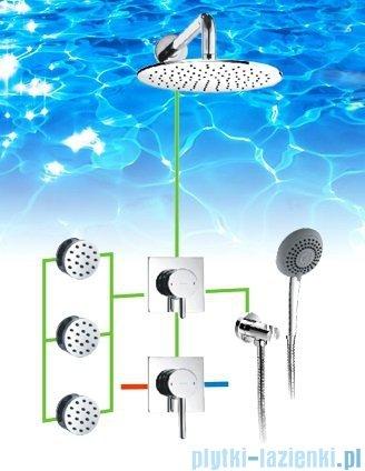 Omnires Y podtynkowy zestaw prysznicowy chrom SYSY30