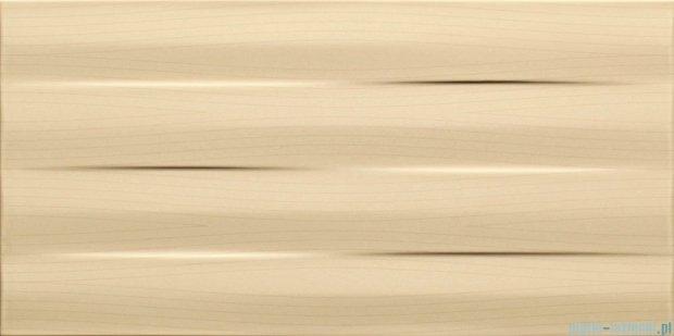 Tubądzin Maxima beige struktura płytka ścienna 22,3x44,8