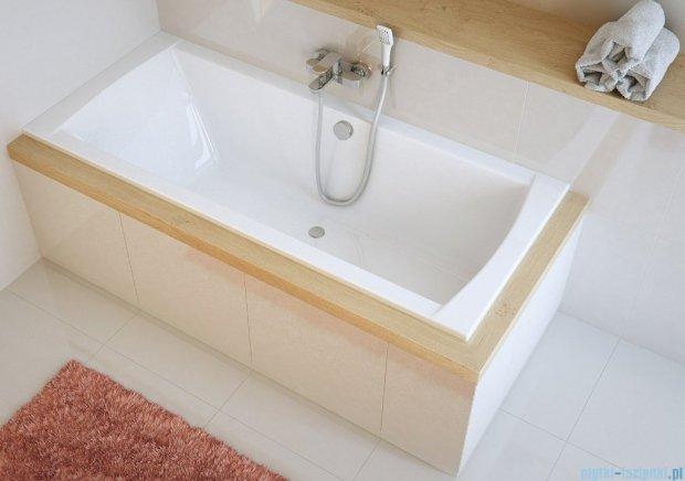 Excellent Aquaria Lux wanna prostokątna 179x79 cm biała WAEX.AQU18WH