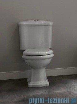 Kerasan Retro Zestaw chrom WC kompakt odpływ poziomy (1013,1081,7509,109001)