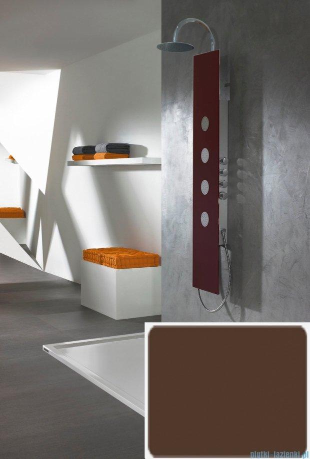 Sanplast Space Line panel prysznicowy PPo/SPACE-150 31x150 cm brązowy 631-100-0130-54-000