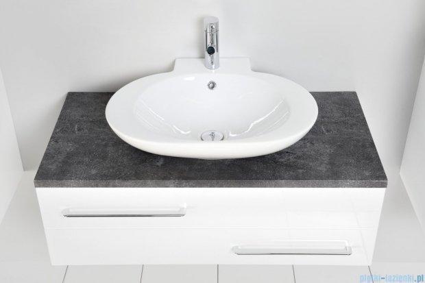 Antado Susanne szafka biała z blatem grafit 95x46cm AS-140/95-WS+AS-B-140/95-73