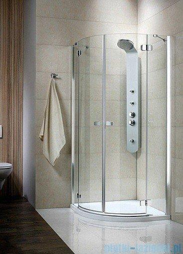 Radaway Kabina prysznicowa Fuenta PDD 90x90 szkło brązowe 381001-08N