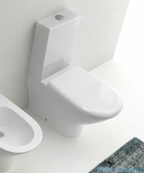 Kerasan Zestaw WC kompakt Aquatech (3717,3781,7509,378801)