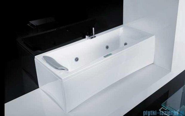 Novellini Elysium Wanna Y 190x80 z hydromasażem wodnym PRAWA Y519080RD2-A2K