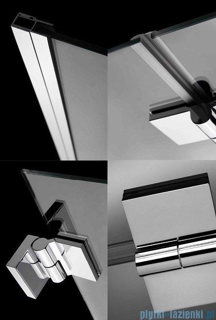 Radaway Carena DWB Drzwi prysznicowe 80 prawe szkło przejrzyste 34512-01-01NR