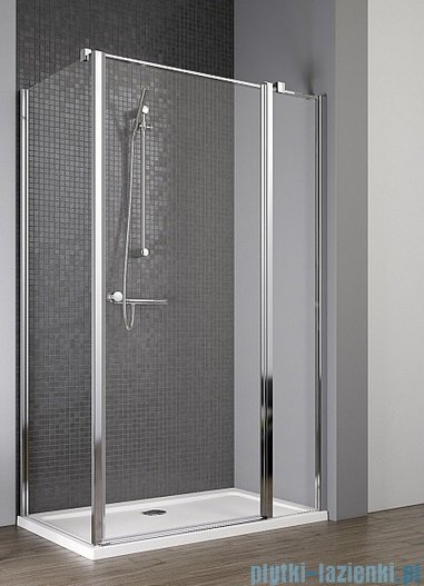 Radaway Eos II KDJ kabina prysznicowa 90x80 prawa szkło przejrzyste 3799421-01R/3799430-01L