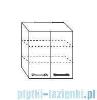 Antado Prima Szafka wisząca 60x20x72 biały połysk BFM-128