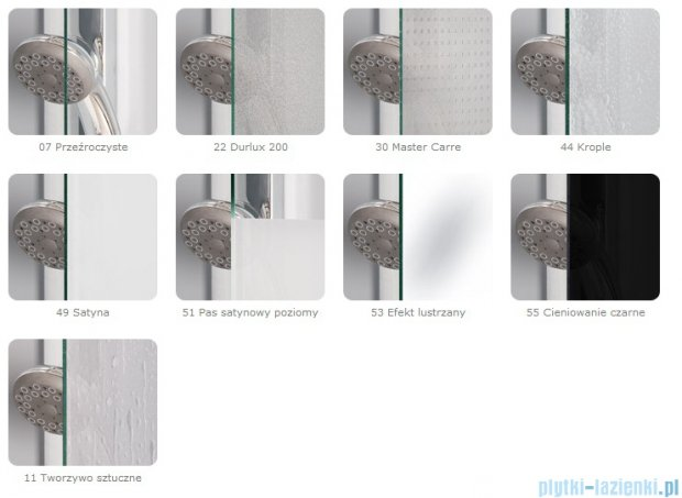 SanSwiss Swing Line SLT2 Ścianka boczna 80cm profil biały SLT208000407
