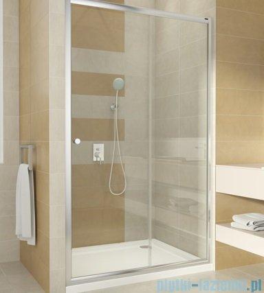 Omnires BRONX drzwi prysznicowe 140x185cm szkło przezroczyste S-2050 140