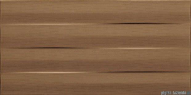 Tubądzin Maxima brown struktura płytka ścienna 22,3x44,8