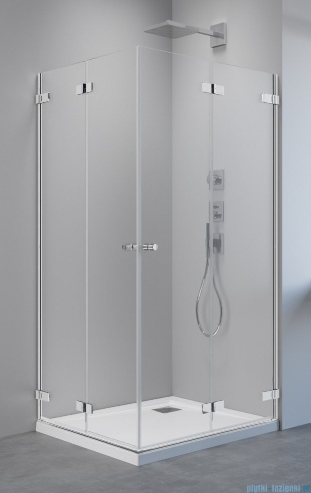 Radaway Arta Kdd B kabina 100x80cm szkło przejrzyste 386162-03-01L/386160-03-01R