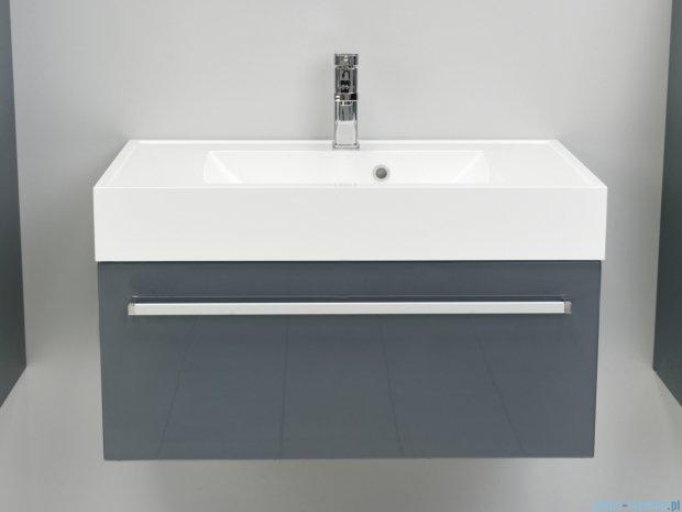 Antado Variete szafka z umywalką, wisząca 80cm szary połysk FM-442/8-K917 + UNA-800