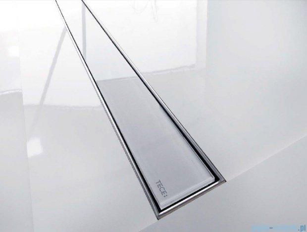 Tece Ruszt prosty ze szkła Tecedrainline 90cm szkło czarne 6.009.92