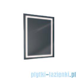 Antado lustro z ramką świetlną LED ciepłe 60x80cm L1-B4-LED3