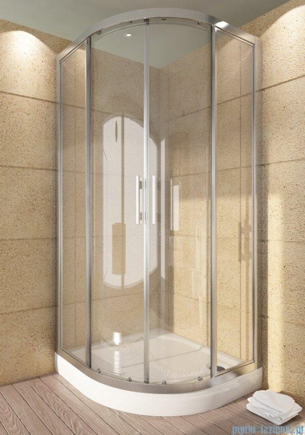 SanSwiss Top-Line TOPR Kabina prysznicowa półokrągła 100cm profil połysk TOPR501005007