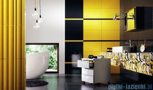 Płytka ścienna Tubądzin Colour Yellow R.4 59,3x32,7