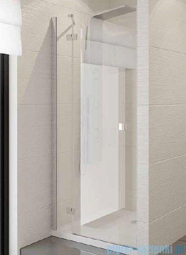 New Trendy Modena drzwi prysznicowe 140cm lewe szkło przejrzyste EXK-1135
