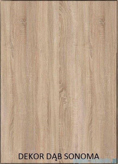 Antado Grande szafka podumywalkowa 80x50x80 dąb Sonoma+biały GR-140/80-3025/WS