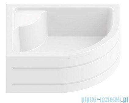 New Trendy Maxima brodzik asymetryczny z siedziskiem lewy 100x80 B-0183/L