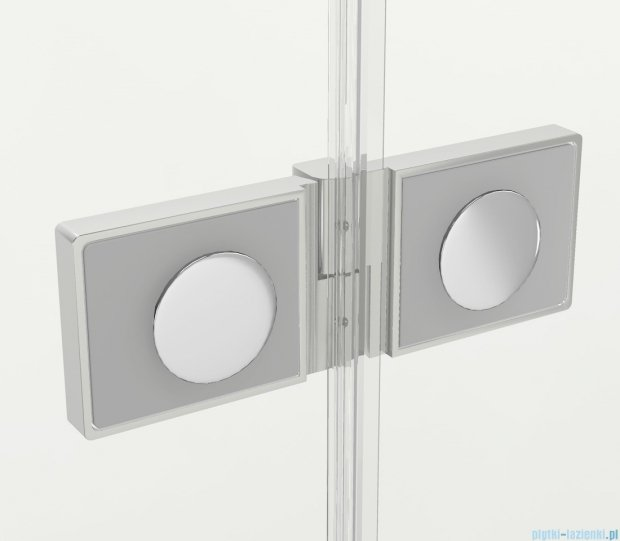 New Trendy New Soleo drzwi wnękowe bifold 70x195 cm przejrzyste Prawe D-0130A
