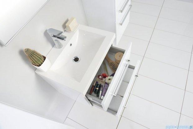 Antado Variete szafka z umywalką, wisząca z dwiema szufladami 50x39x40 biały połysk FM-C-442/5/2GT + UMMC-500X390