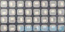 Dekor ścienny Tubądzin MODERN SQUARE 1 44,8x22,3