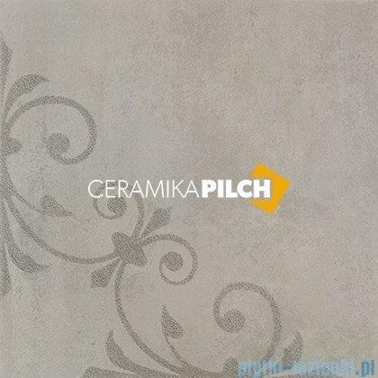 Pilch Cemento szary 2B dekor podłogowy 59,6x59,6