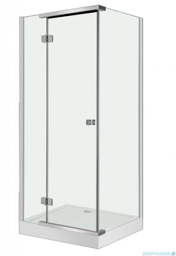 NOVOTERM Kent kabina prysznicowa 90x80 szkło: przejrzyste Lewa KENT