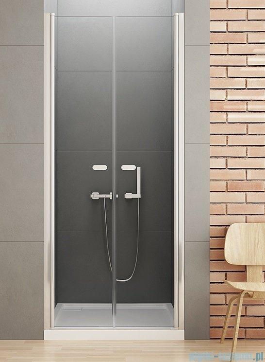 New Trendy New Soleo drzwi wnękowe dwuskrzydłowe 170x195 cm przejrzyste D-0170A