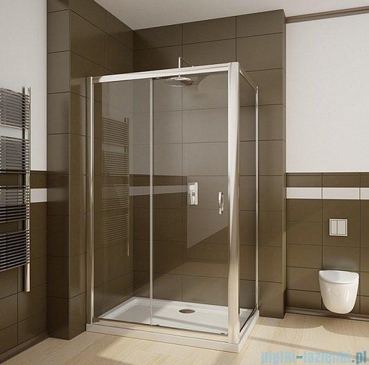 Radaway Premium Plus DWJ+S kabina prysznicowa 110x80cm szkło fabric 33302-01-06N/33413-01-06N
