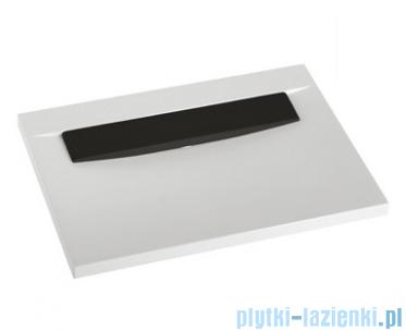 Marmorin Tatoo umywalka nablatowa z otworem 70,5cm czarna płytka 112071020011