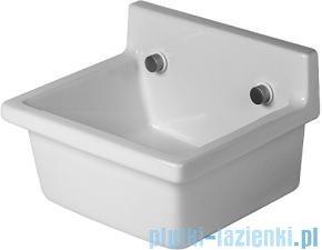 Duravit Starck 3 umywalka bez przelewu i bez półki na baterię 480x425 031348 00 00