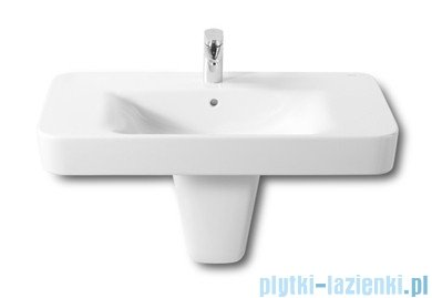 Roca Dama Senso Compacto Square Umywalka ścienna 85x47,5cm powłoka Maxi Clean A32751N00M