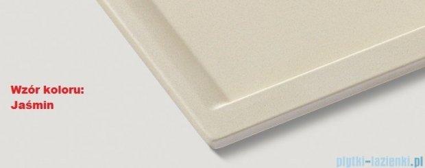 Blanco Zenar 45 S-F  Zlewozmywak Silgranit PuraDur komora lewa kolor: jaśmin z kor. aut. i szklaną deską do krojenia 519194
