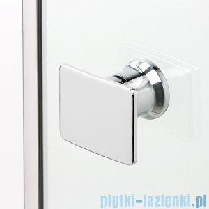 New Trendy Eleganta kabina prysznicowa asymetryczna prawa przejrzysta 120x85  EXK-1023
