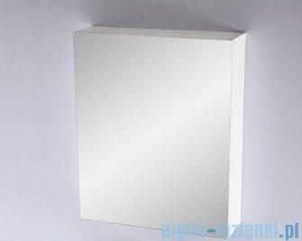 Antado Variete Szafka z lustrem 50x15x75 biały połysk FM-115CH
