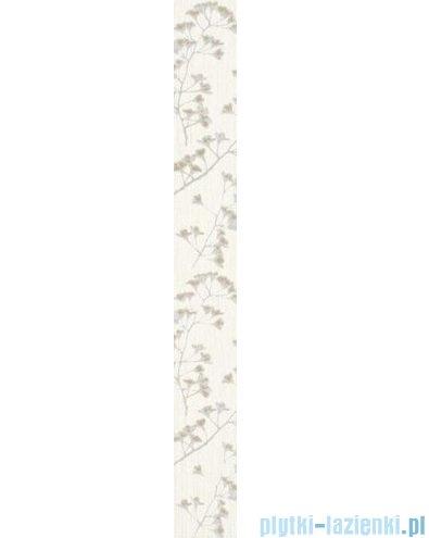 Paradyż Sorenta kwiaty listwa ścienna 7x60