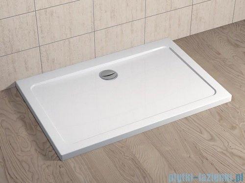 Radaway Torrenta Kdj Kabina prysznicowa 90x80 lewa szkło przejrzyste + brodzik Doros D + syfon 32249-01-01NL
